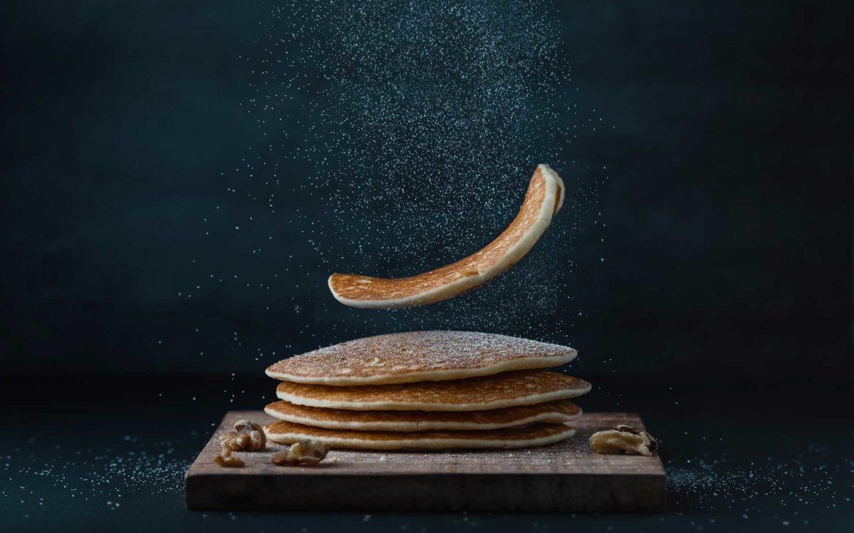 Pancake proteici a colazione