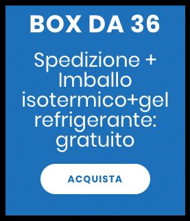 Pasti pronti | Pasti personalizzati box da 36 | 100GRAMMI