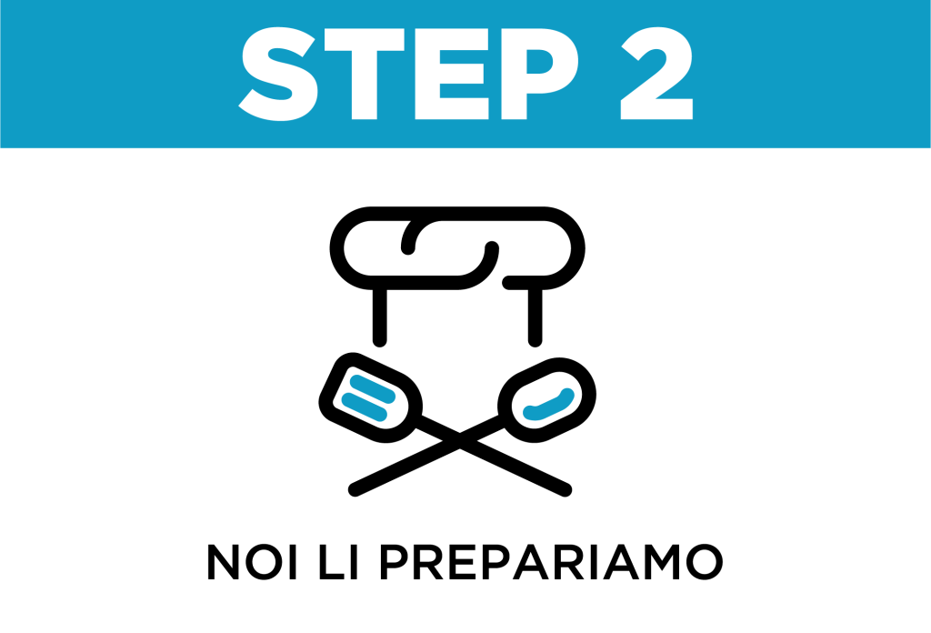Pasti pronti | Come funziona step 2 100GRAMMI