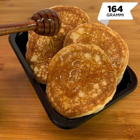 Pasti pronti | Pancake naturale con miele millefiori 2 | 100GRAMMI