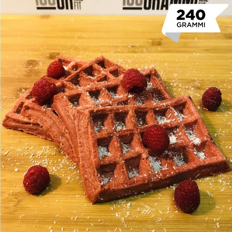Pasti pronti | Waffle red velvet | 100GRAMMI