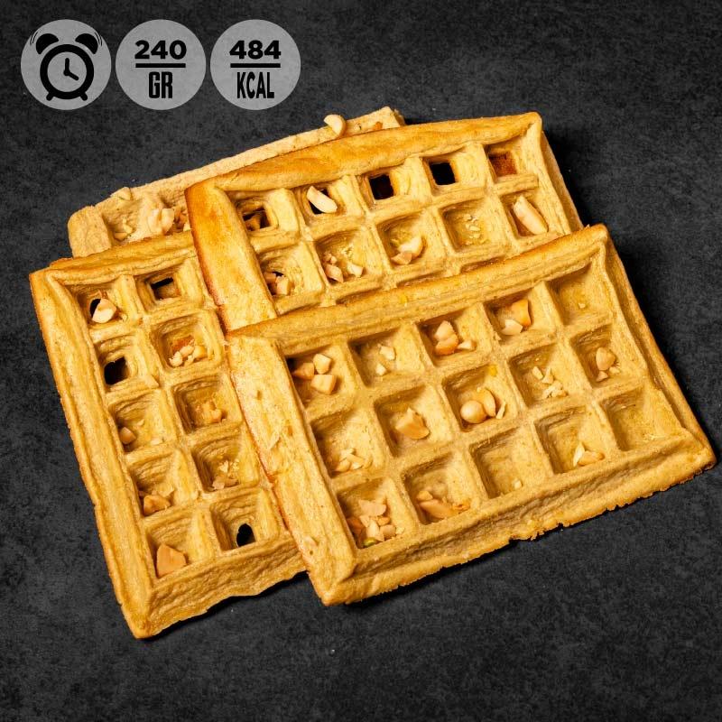 Waffle al burro di arachidi   Colazione 100Grammi